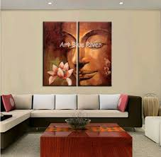 abstract handmade painting modern contemporary 2 abstract modern buddha wall handmade canvas