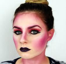 Alien Halloween Makeup by Fasching Halloween Creative Geisha Alien Makeup Tutorial