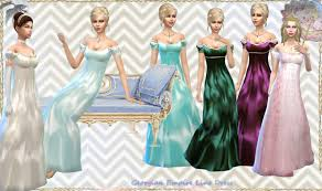 1800s hairstyles for sims 3 sims 4 dresses sims 4 georgian sims 4 emperial sims 4 historic
