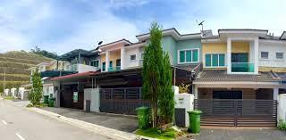 aleya muslim homestay terrace double storey golden hill 13