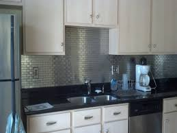Tin Tiles For Kitchen Backsplash Attractive Metal Backsplash Tiles For And Weekend Projects How To