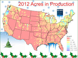 Western North Carolina Map Where Your Christmas Tree Comes From U2013 Mci Maps