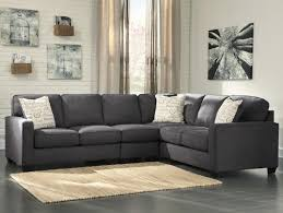 Sectional Loveseat Sofa Signature Design By Alenya Charcoal 3 Sectional