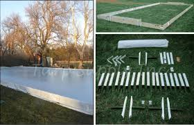 Backyard Hockey Rink Kit by 30 U0027x50 U0027 Ice Rink Kit
