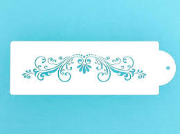 Stencils For Cake Decorating Stencilling Ideas And Inspiration By