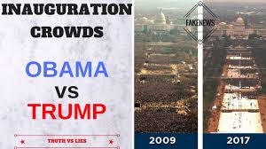 picture of inauguration crowd trump inauguration crowd size real vs fake pics trumpinauguration