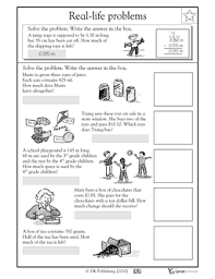 real life word problems part 3 education pinterest 4th