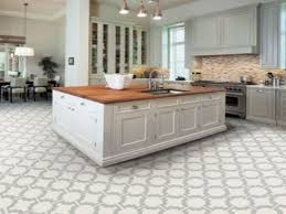 how to install a kitchen island tile floors tile floor in kitchen wainscoting on island