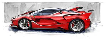 ferrari drawing ferrari u0027s firebrand luxury car design speed date