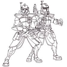 lego coloring pages star wars commander clone trooper arc