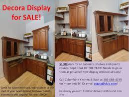 kitchen cabinet display sale display sale columbine kitchen and bath