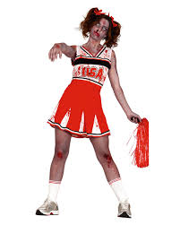 cheerleader zombie costume for zombie walks u0026 halloween horror