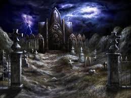 halloween graveyard wallpaper wallpapersafari