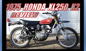 1975 honda xl250 review youtube