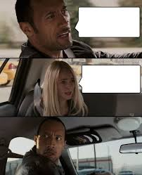 Rock Memes - the rock driving know your meme