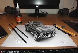 serbian artist creates incredible 3 d art chinadaily com cn