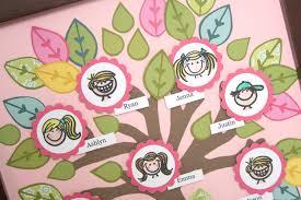 family tree craft for kids home design u0026 interior design