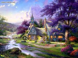 finding the design of thomas kinkade wallpapers for desktop thomas