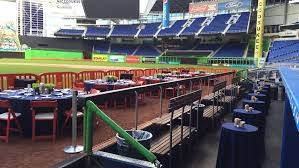lexus dugout club seats ballpark events at marlins park meeting u0026 event spaces warning