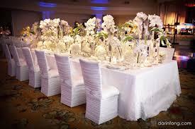 housses de chaises mariage décoration mariage quelle housse de chaise choisir bricobistro