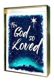 for god so loved boxed christmas cards discovery house