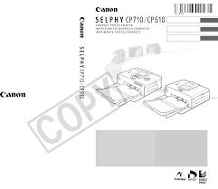 canon printer manuals canon photo printer selphy cp510 pdf user u0027s manual free download