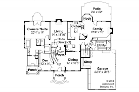 Colonial Floor Plans House Plan Colonial Palmary 10 404 Flr1 0 Center Hall Floor