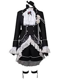 Black Butler Halloween Costumes Amazon Black Butler Ciel Phantomhive Cosplay Costume Toys