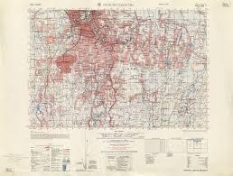 Batavia World Map by Jakarta 1953 By The Army Map Service Us Army Washington Dc 1959