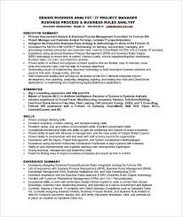 Business Analyst Objective In Resume Business Analyst Best Samples Of Business Analyst Resume Business