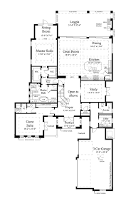 mediterranean style house plan 3 beds 3 baths 3648 sq ft plan