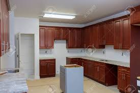 installing a kitchen base cabinet wooden cabinets installation of in the modular kitchen of installation