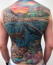 40 unique back tattoos for men manly body art design ideas