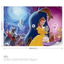 disney princesses belle beauty beast wall mural photo wallpaper disney princesses belle beauty beast wall mural photo