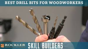 Best Woodworking Shows On Tv by Best Drill Bits For Woodworking Rockler Skill Builders Youtube