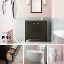 black and pink bathroom ideas petal pink bathroom kohler ideas