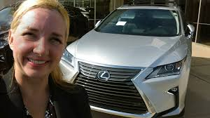 lexus canada executives 2017 lexus rx 350 premium package first look youtube
