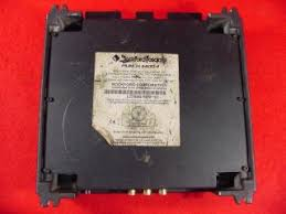rockford fosgate punch 75hd old 75 amp amplifier nice