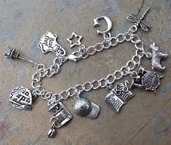 ebay charm bracelet silver images Gilmore girls charm bracelet cute pewter charms on silver plated jpg