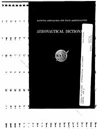 bureau ex utif naca tm 101286 aeronautical dictionary aerodynamics aircraft