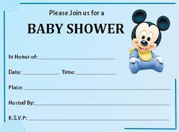 free printable baby shower invitations templates for boys 13538