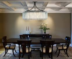 Chandeliers For Dining Rooms by Rectangular Dining Room Chandelier Provisionsdining Com