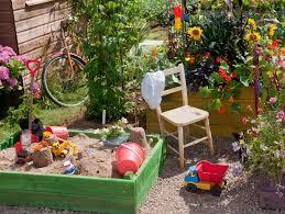 Backyard Sandbox Ideas Make The Garden Family Friendly Hgtv