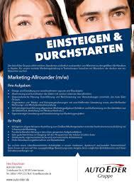 Autohaus Huber Bad Reichenhall Job Marketing Allrounder M W Tuntenhausen Rosenheimjobs De