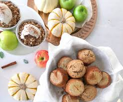 healthy thanksgiving desserts cupcakes crisps and pie of