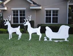 Wooden Christmas Ornaments To Make 91y76plbf2l Sl1500 Jpg Reindeer Outdoor Christmas Decorations