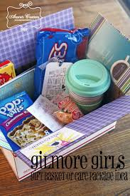 Comfort Gift Basket Ideas Gilmore Girls Care Package Or Gift Basket Idea Basket Ideas