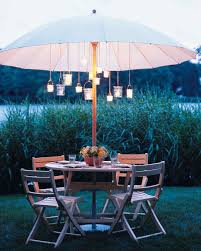 Patio Umbrella Tables by Creative Outdoor Spaces Martha Stewart