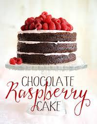 chocolate raspberry cake special birthday u2014 styling