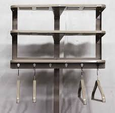 Decorative Clothes Rack Australia by Metal Coat Rack With Four Hangers Olde Good Things